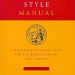 California Style Manual